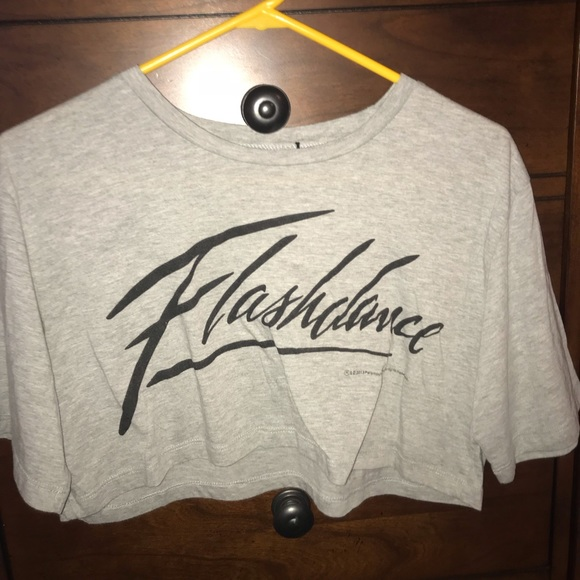 3066c5afe22e4 Forever 21 Tops - LAST CHANCE Flash dance crop top